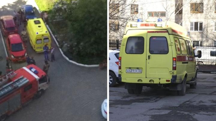 В Тюмени иномарка наехала на пятилетнего мальчика, который бегал во дворе