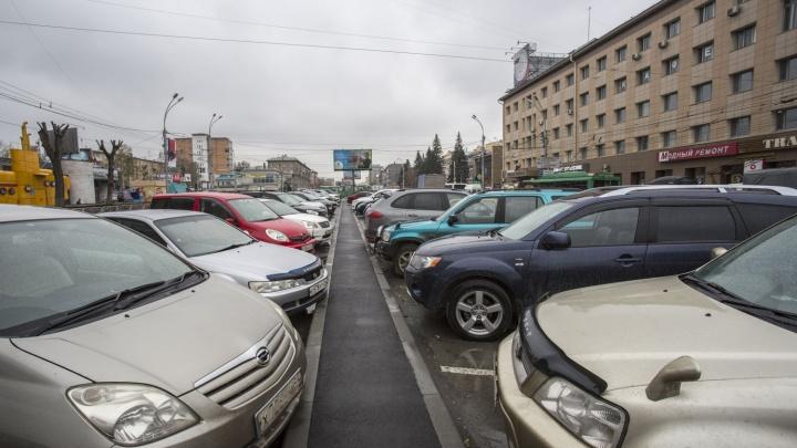 Новую платную парковку откроют на Красном проспекте