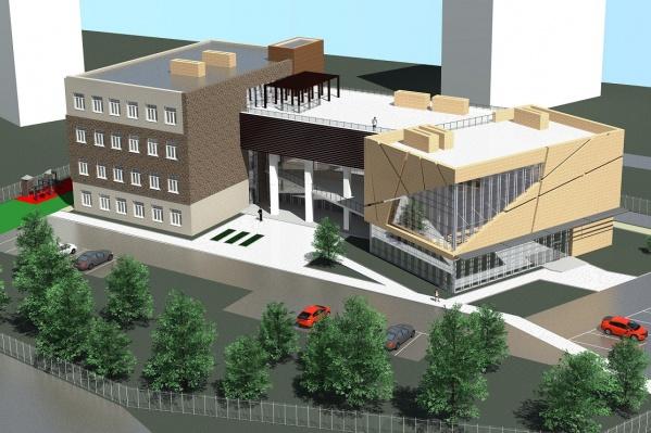 Здание хотят расположить на улице Энгельса, рядом с Домом культуры железнодорожников