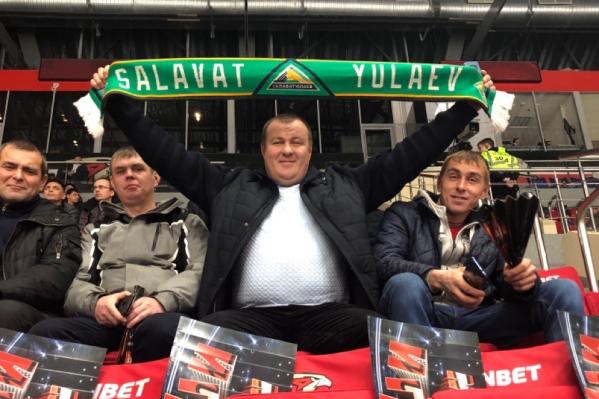 Уфимская команда в соцсетях поблагодарила своих болельщиковза поддержку
