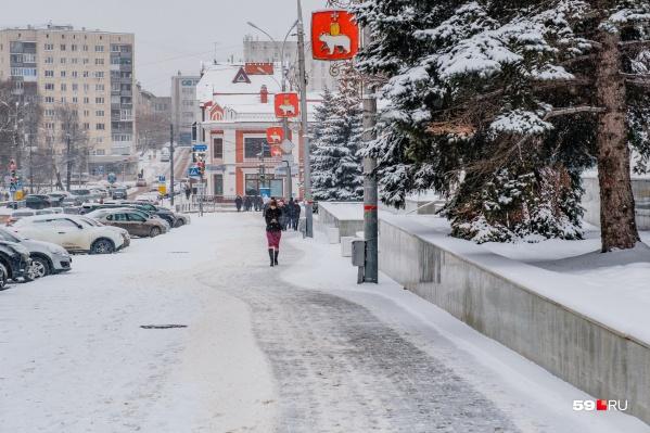 В ночь на 31 декабря ожидается снегопад