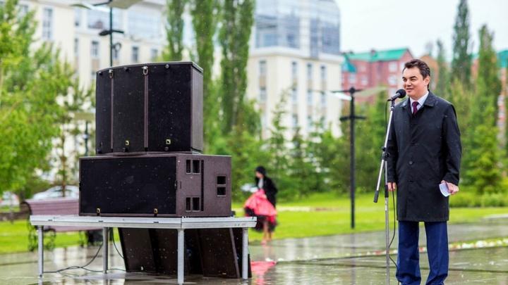 Ирек Ялалов поздравил уфимцев с Днем города стихотворением
