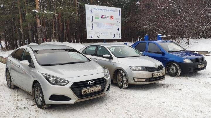 Нарушение месяца: как дрифтеры убивают площадку возле Челябинского городского бора
