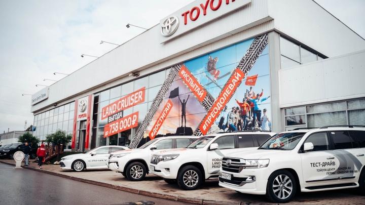 В VERRA прошел праздник в честь 10-миллионного Toyota Land Cruiser