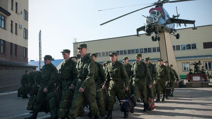 В Башкирии на проводах призывников подрались провожающие