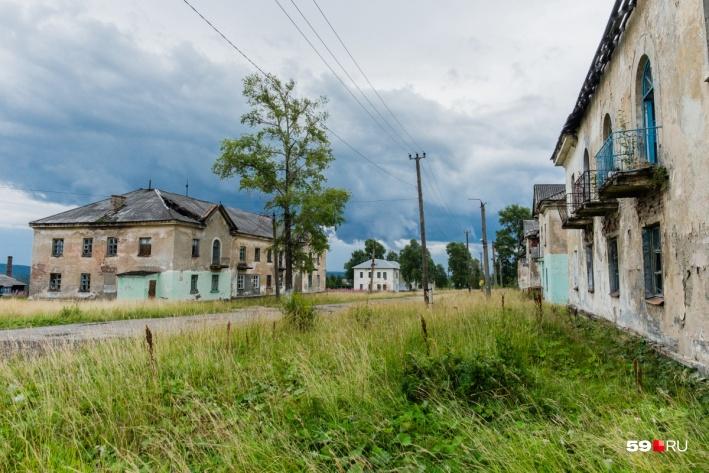 Каменные двухэтажки строили пленные немцы