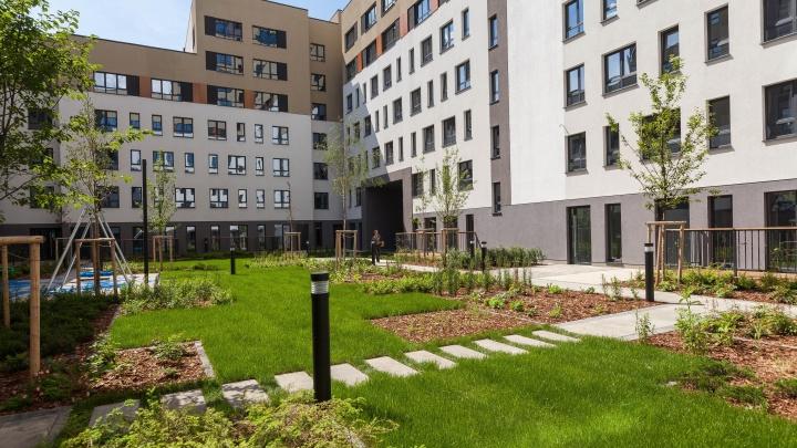Прогулочные бульвары, двор-сад и террасы: чем удивит новосёлов семейный квартал европейского формата