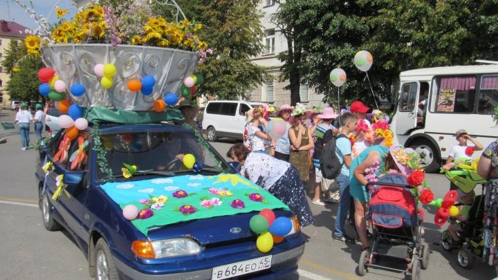 В День города по центру Кургана пройдёт автокавалькада