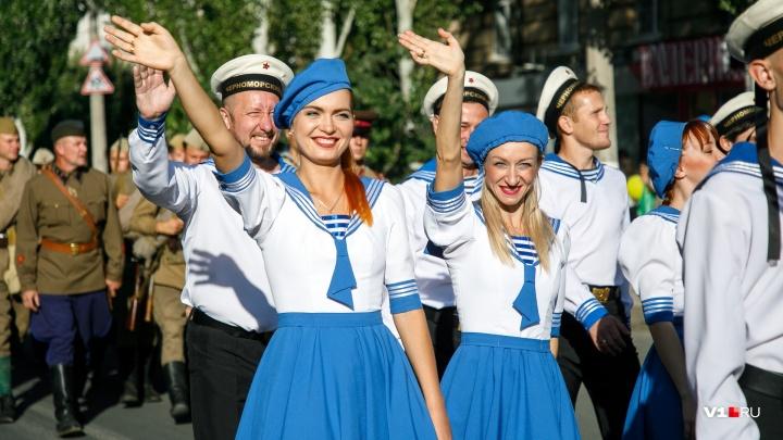 По Волгограду прошёл городской карнавал — фоторепортаж