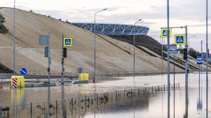 На Центральной набережной в Волгограде начали строительство локальных очистных сооружений