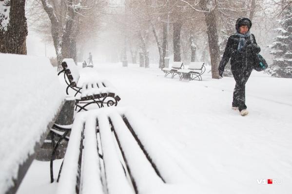 В ближайшие дни на город обрушится ассорти из дождя и снега