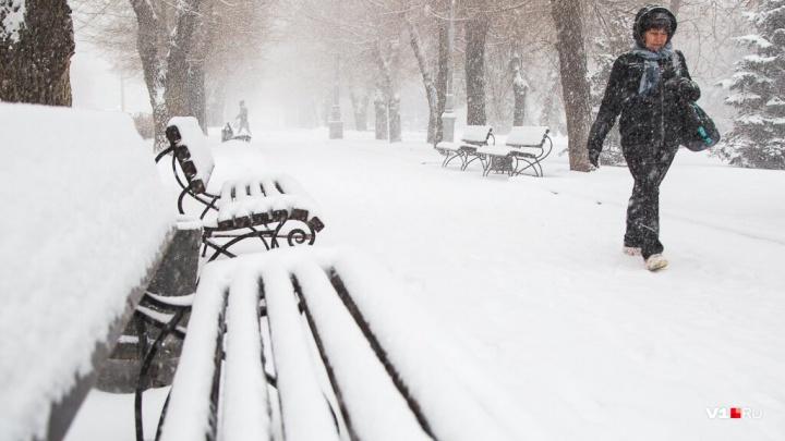 Сильный гололед и метели: на Волгоградскую область надвигается резкое похолодание