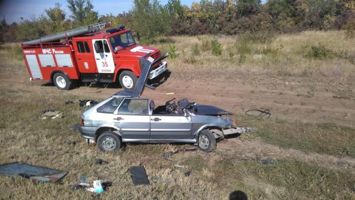 МВД Волгоградской области: «Разбились четыре машины, погиб 28-летний водитель, четверо ранены»