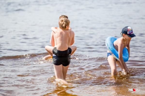 Советуем воздержаться от купания