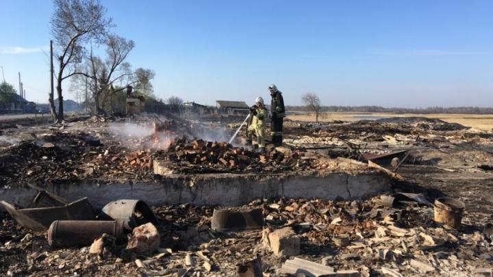 В Курганской области сохраняется высокая вероятность пожаров