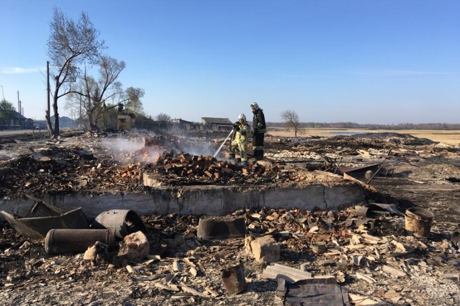 Особый противопожарный режим введен в Зауралье 26 апреля
