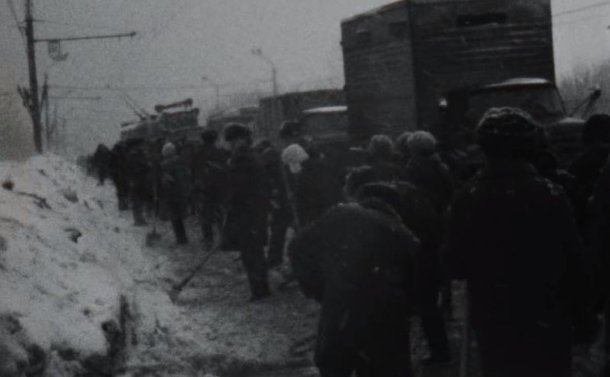 Видео дня. Смотрим, как в Нижнем Новгороде чистили дороги более 40 лет назад