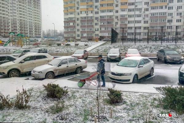 Ростовчане явно не ожидали такого сюрприза этим утром
