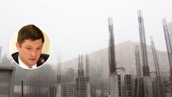 Министр строительства Евгений Чудаев: «Горожане сами разрешили строить высотку на Победе»