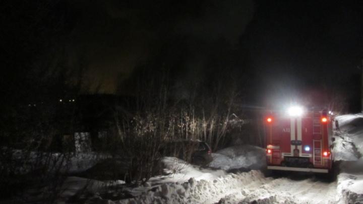 Из-за нечищеных дорог в центре Челябинска погорели два дома