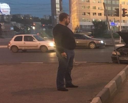 Лучшее за год: Каратель без страха —в Новосибирске появился водитель, который таранит чужие авто