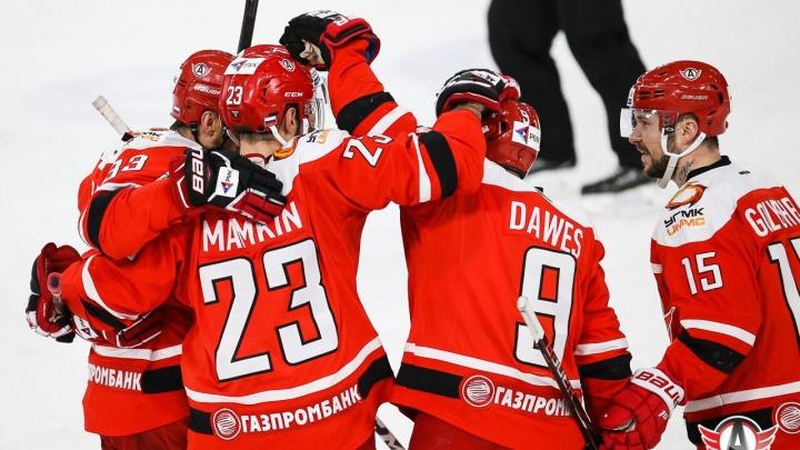 Есть шестая победа: «Автомобилист» впервые в истории обыграл клуб из Сочи в Екатеринбурге