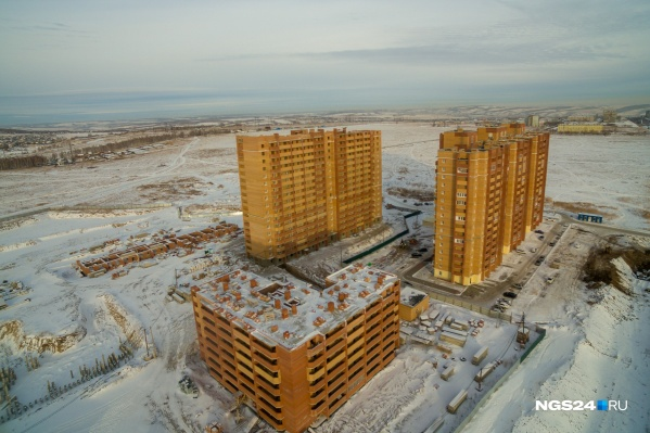 Фото одного из ЖК «Реставрации» — «Фестиваль» в жилмассиве «Солнечный»
