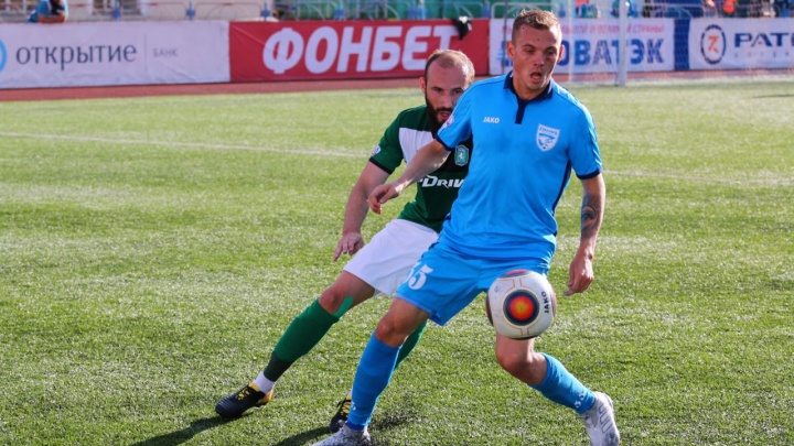 Футбол: «Сибирь» проиграла «Кубани»