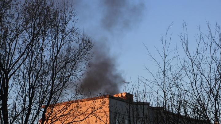 Горим: в Архангельске возросло количество пожаров