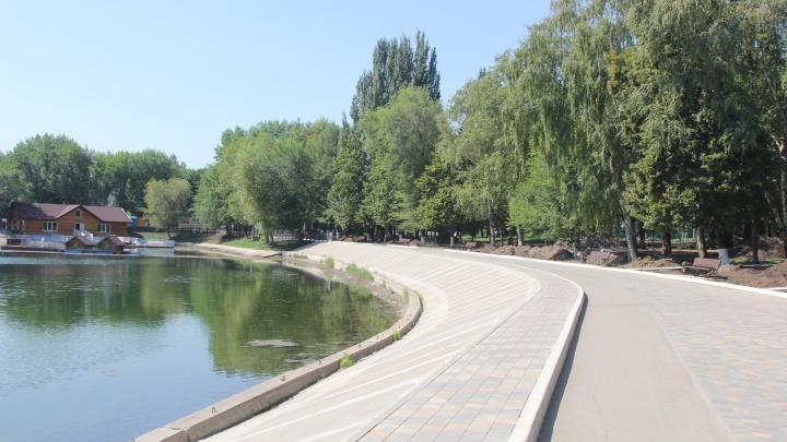 Разровняют грунт и обустроят прокат коньков: в парке Металлургов устраняют недочеты