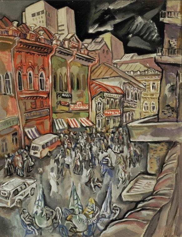 Улица Вайнера из серии «Старый Екатеринбург»
