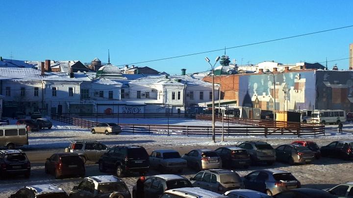 В мэрии рассказали, как будет выглядеть каток по улице Бударина