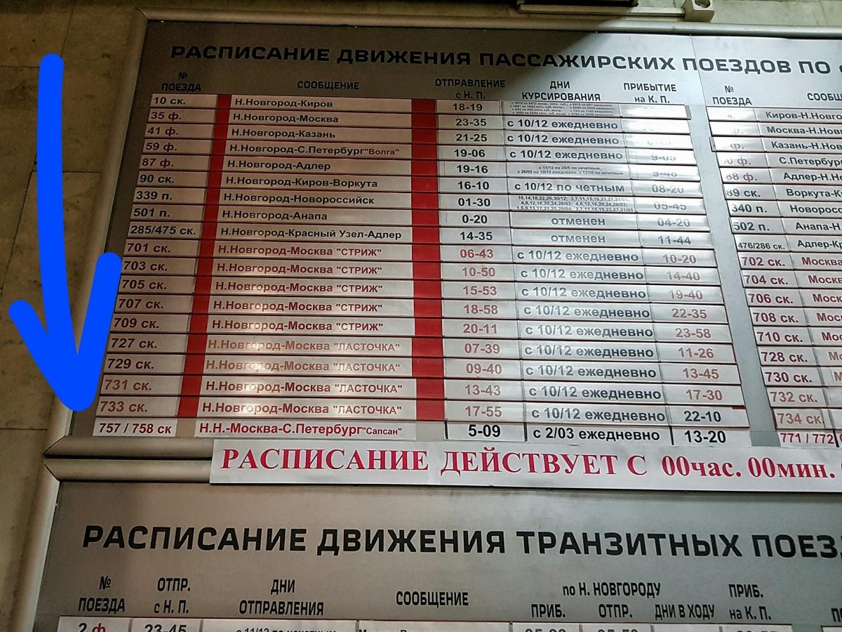 Расписание поезда 077 до гродно