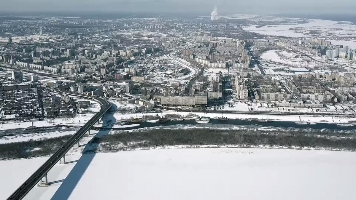 Каким игрушечным может выглядеть город-миллионник с высоты