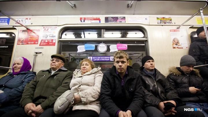 15 тысяч празднующих: новосибирцы установили рекорд в метро в новогоднюю ночь