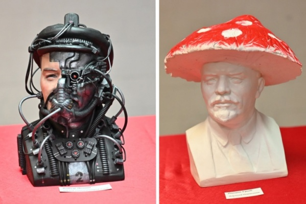 Художники решили показать Ленина в непривычных образах