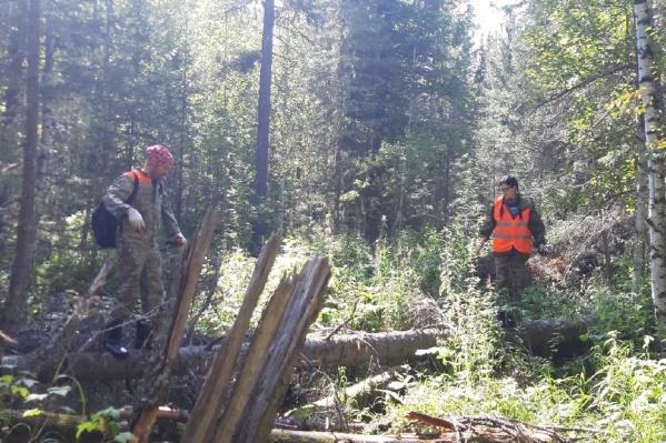 Спасатели нашли мужчину в удовлетворительном состоянии