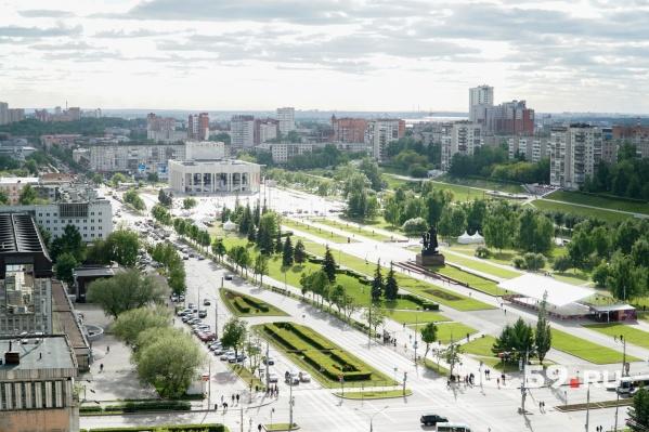 Эспланада — одна из территорий, развитие которых будут обсуждать архитекторы