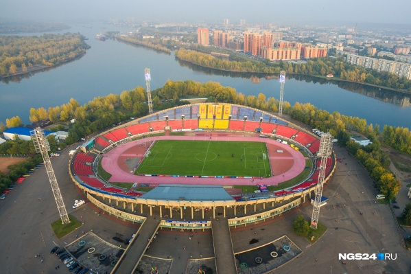 Вот так стадион выглядел до реконструкции
