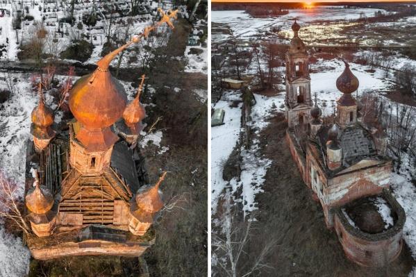 Церковь Сретения Господня построили 216 лет назад