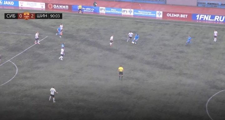 Футбольная «Сибирь» проиграла первый домашний матч сезона