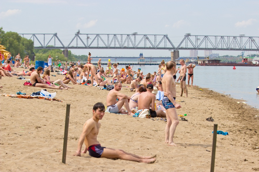 Минувшее  воскресенье стало самым жарким за40 лет вНовосибирской области