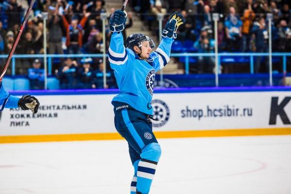 «Сибирь» побеждает второй матч подряд
