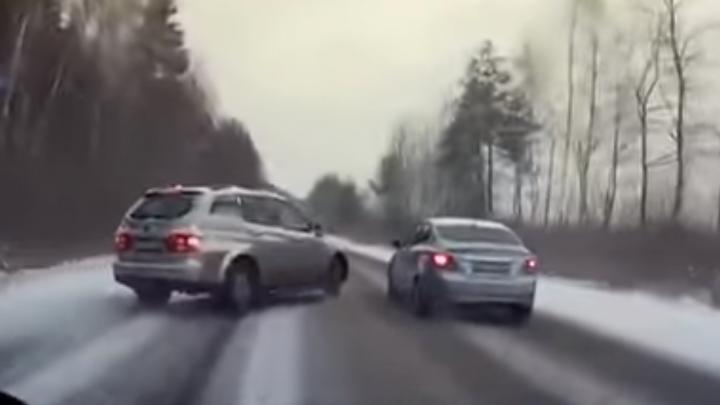Группа разбора: показываем «зимние» ошибки водителей на примере недавних аварий