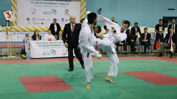 В Стерлитамаке состоялся IV Кубок Урала и Поволжья по всестилевому карате