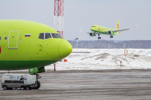Авиакомпания S7 Airlines имеет техническую возможность и готова выполнять не менее 14 рейсов в неделю