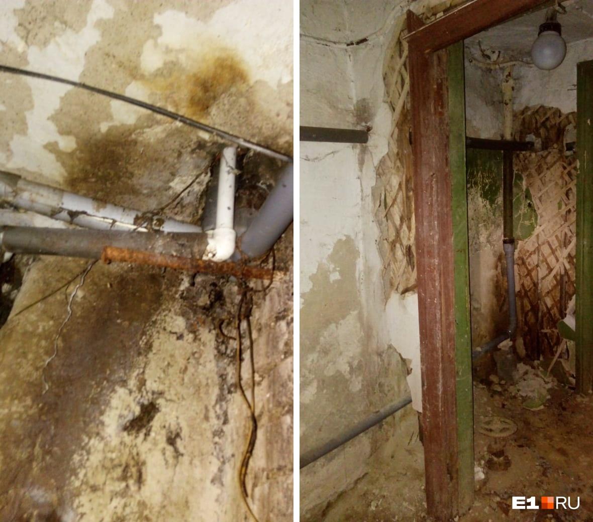 В управляющей компании говорят, что дом нуждается в глобальном ремонте, а не точечном