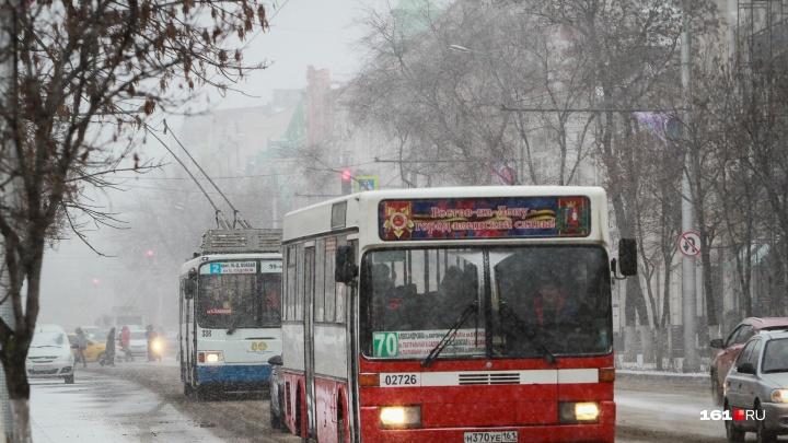 В новогоднюю ночь общественный транспорт Ростова будет работать до трех часов