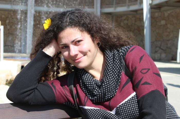 Ая переехала в Израиль восемь месяцев назад