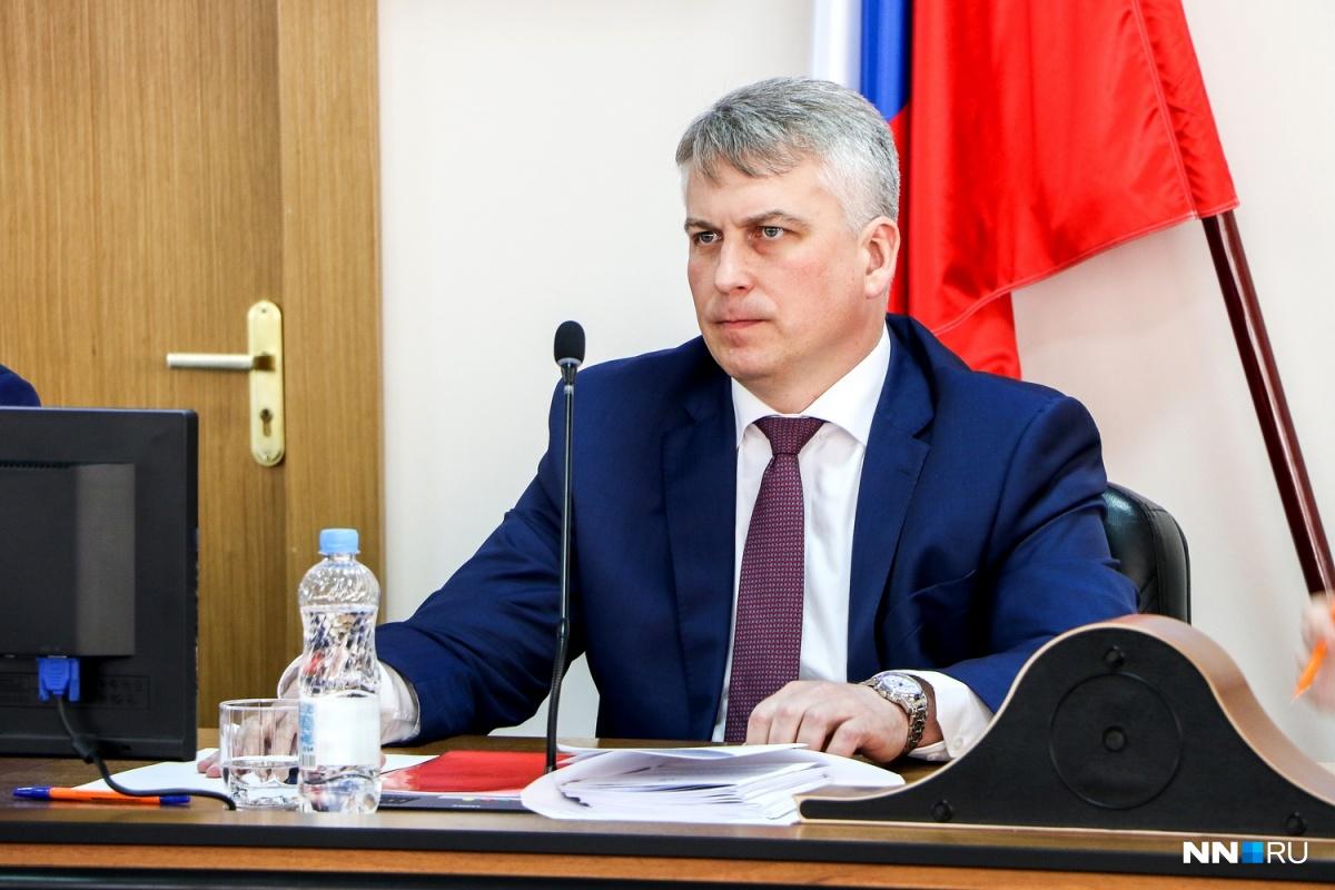 Руководитель администрации Нижнего Новгорода Сергей Белов написал объявление оботставке